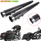 4 Motorcycle Slip On Muffler Exhaust Pipes End Cap For Harley Touring 1995 2016