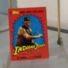 1984 Topps Indiana Jones and the Temple of Doom Trading Cards 17