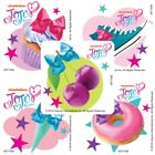 20 JoJo Siwa Icons STICKERS Party Favors Supplies for Birthday Treat Loot Bags