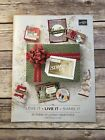 2018 Stampin Up Holiday Seasonal Catalog Stamps Idea Book NEW Retired