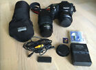Pentax  K10D 10.2MP Digital SLR Camera - Black (Kit w/ 18-55mm&55-300mm Lenses)