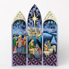 Jim Shore Nativity Triptych Alleluia He Is Born 4034385 Retired