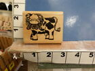 dots ctmh cow farm animal rubber stamp 36g