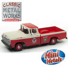 NEW CMW Mini Mtls '60 Ford F-100 Pickup Texaco Service 1:87 HO FREE US SHIP