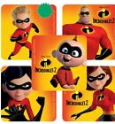 25 Disney Incredibles 2 Stickers Party Favor Teacher Supply 1 5 8 x 15 8