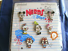 Disney  NERDS FULL BODY  GLASSES MICKEY  FRIENDS  NEW 7 Pin Booster Set
