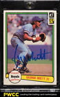 1982 Donruss Recollection Collection George Brett AUTO 5 #34 (PWCC)