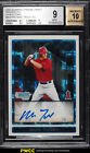 2009 Bowman Chrome Xfractor Mike Trout ROOKIE RC AUTO 225 BGS 9 MINT (PWCC)