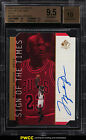 1998 SP Authentic Sign Of Times Gold Die-Cut Michael Jordan AUTO BGS 9.5 (PWCC)
