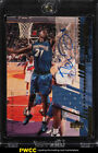 2001 Upper Deck Game Jersey Kevin Garnett AUTO PATCH SHORT PRINT #A-KG (PWCC)