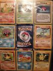 pokemon cards 1995 lot over 100 cards some with doubles