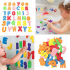 36Pcs Bath Learn 26 Letters  Numbers Stick Floating Baby Bathroom Water Toys JO