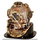 Brass Sea Marine Scuba Divers Diving Helmet US Navy Mark V Solid Brass 18
