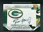 2005 National Treasure Brett Favre Green Bay Packers Signature Patch Auto 5 25