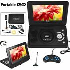 "13.9"" Tragbarer Auto DVD Player USB Portable analog TV LCD Display CD Game SD FM"