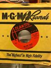 The Drifters There Goes My Baby Oh My Love 45 1959 Atlantic Vinyl Record