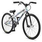 Mongoose Title Mini BMX Race Bike, 20-Inch Wheels, Silver