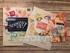 Stampin Up 2018 2019 Annual Catalog Idea Book Occasions + Sale A Bration NEW LOT