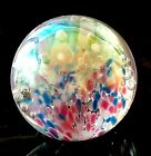 Glass Eye Studio GES 1991 Signed Paperweight Gorgeous Small Ball Vintage RARE