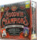 2018 Upper Deck Goodwin Champions Factory Sealed 20 Pack Hobby Box 3 Hits