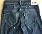 Levis Indigo 503 Cinch Buckle Back Turkey Rare Vintage