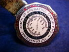 Old Labor Union Pocket Watch Fob International Union of Operating Engineers
