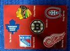 2014 Canada Post NHL Original Six Stamp Sheets 10