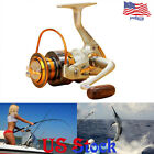 Left right Interchangeable 12BB Ball Bearing Freshwater Fishing Spinning Reel