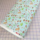 Hug  Loves Cute Fish Ducks Otters Cotton Fabric By Henry Glass Yard