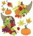 AUTUMN Jolees Boutique Scrapbook Craft Sticker Fall Leaf Wreath Acorns