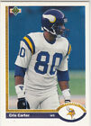 Cris Carter Cards, Rookie Cards and Autographed Memorabilia Guide 12