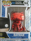 RED CHROME BATMAN, Funko Pop Vinyl Figure, Funko Shop Exclusive