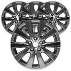 17 Polished w Charcoal Windows Rim by JTE for 2011 2012 Toyota Avalon Set of 4