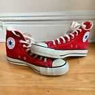 CHUCK TAYLOR Converse MADE IN JAPAN RED SNEAKERS SIZE 75 MENS