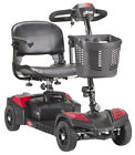 Drive Medical Scout 4 Wheel Compact Electric Power Mobility Scooter 12AH 20AH