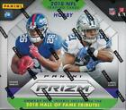 2018 Panini Prizm Football Factory Sealed Hobby Box With (3) Autos