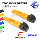 For Ducati Monster 1000 /ie All Year FRW CNC Billet Rear Footpegs