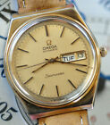 Vintage Omega Seamaster Day Date Watch Serviced Automatic Movment Gold plated/SS