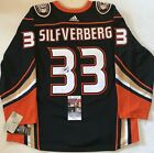Jakob Silfverberg signed Anaheim Ducks Adidas Authentic Adizero jersey JSA