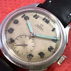 VINT OMEGA WHITE DIAL MILITARY NEVER RESTORED  Cal Ca 48NO RESERVE PRICE