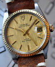 Tudor by Rolex Prince Oyster Date Watch Gold Bezel STUNNING Dial Ref 74033 Offer