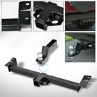 CLASS 3 TRAILER HITCH w 2 LOADED BALL BUMPER TOW KIT FOR 97 06 JEEP WRANGLER TJ