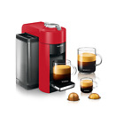 Nespresso ENV135R Vertuo Coffee Maker and Espresso Machine by DeLonghi Red