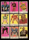 1959 TOPPS FOOTBALL LOT OF 22 DIFFERENT NM W STARS *158377