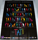JACQUES TATi 2014 complete retrospective France Burlesque LARGE French POSTER