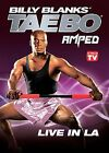 Billy Blanks TAE BO AMPED LIVE IN LA DVD LA taebo workout SEALED NEW