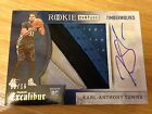 2015-16 15 16 Excalibur Karl-Anthony Towns Rookie Rampage Auto Jumbo Patch #8 16