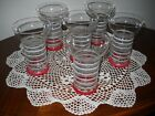 6 RETRO STYLE FOUNTAIN/KITCHEN GLASSES  5.2