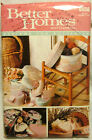 Butterick CRAFT Sewing Pattern 6656 BETTER HOMES BOXES OVAL ROUND HEART UNCUT