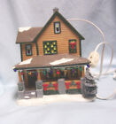 VILLAGE BUILDINGS: Dept 56 Lighted Ralphies House from The Christmas Story